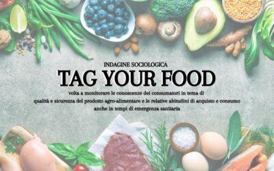 "Al via l'indagine sociologica del progetto ""Tag your Food"""